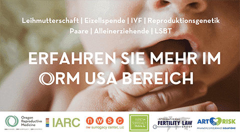 International Fertility Law Group, US Village, Kinderwunsch Tage, Berlin, Feb. 17-18, 2018