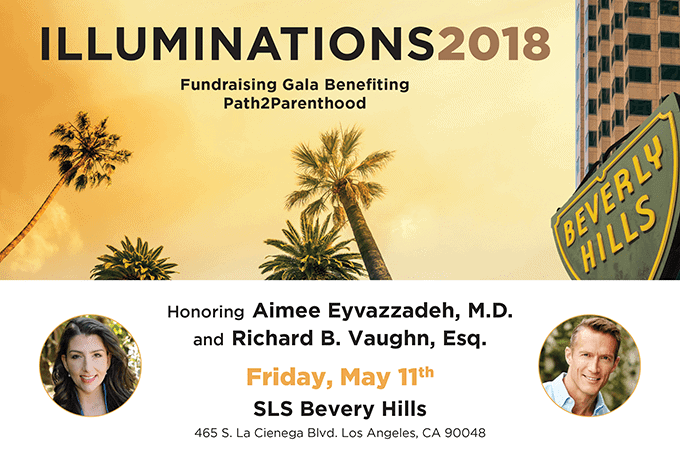 Path2Parenthood Honors Rich Vaughn International Fertility Law Group at Illuminations 2018